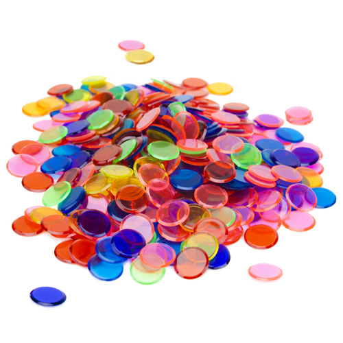 350 Pack Mixed Bingo Chips