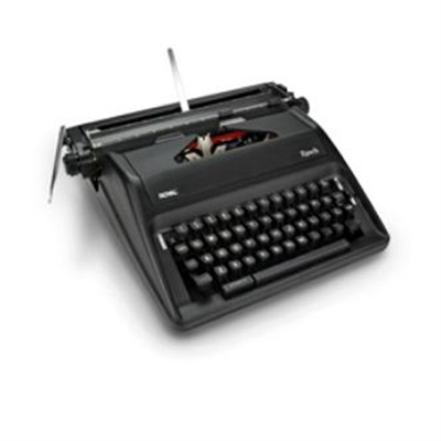 EPOCH Manual Typewriter Blk