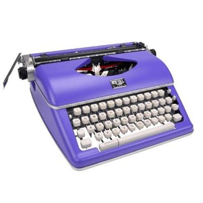 Royal Typewriter Purple