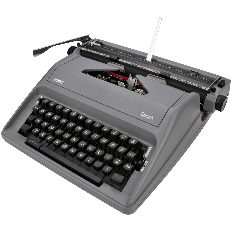 EPOCH Manual Typewriter gray
