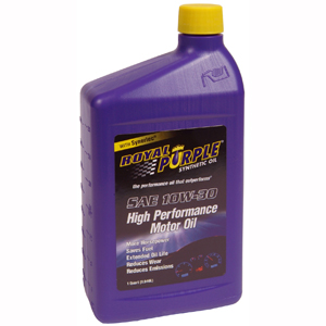 SYNTHETIC MOTOR OIL (10W30) 1 QUART, 12-PACK