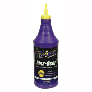 MAX GEAR 75W90 SYNTHETIC GEAR OIL 1 QUART, 12-PACK