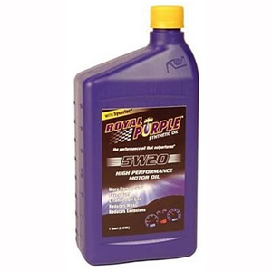 SYNTHETIC MOTOR OIL (5W20) 1 QUART, 12-PACK