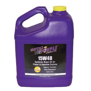 SYNTHETIC MOTOR OIL (15W40) 1 GALLON, 4-PACK