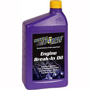 ENGINE BREAK-IN OIL 1 QUART, 12-PACK