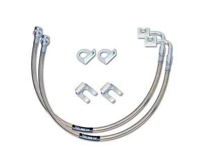 "Stainless Steel 20"" Rear Brake Line Set"
