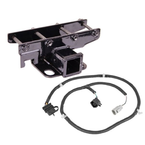 Receiver Hitch Kit with Wiring Harness; 07-16 Jeep Wrangler JK
