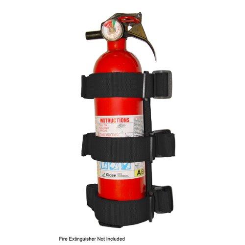 Sport Bar Fire Extinguisher Holder, Black; 55-16 CJ/Wrangler YJ/TJ/JK