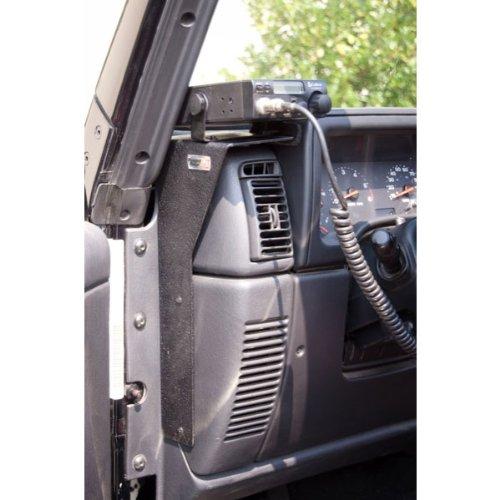 CB Radio Dash Mount; 97-06 Jeep Wrangler TJ/LJ
