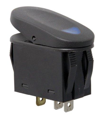 2-Position Rocker Switch, Blue