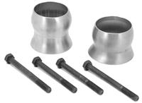 Exhaust Spacer Kit; 12-16 Jeep Wrangler JK