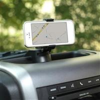 Dash Multi-Mount, With Phone Holder; 97-06 Jeep Wrangler TJ/LJ