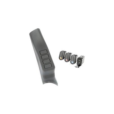 A-PILLAR POD KIT DUAL USB