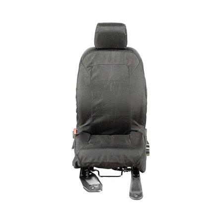11-16 WRANGLER JK E-BALLISTIC SEAT COVER SET, FRONT, BLACK