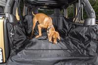 07-16 WRANGLER C3 CARGO COVER, WITHOUT SUBWOOFER BLACK