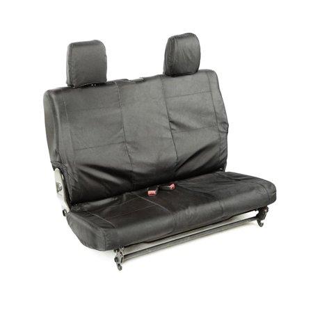 11-16 WRANGLER JK BALLISTIC SEAT CVR, REAR, BLK, 840D