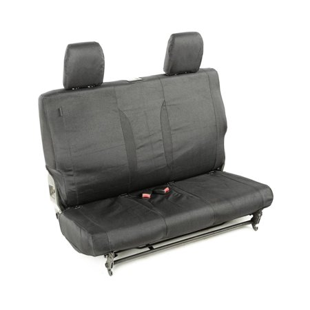 11-16 WRANGLER JK E-BALLISTIC SEAT COVER, REAR, BLACK