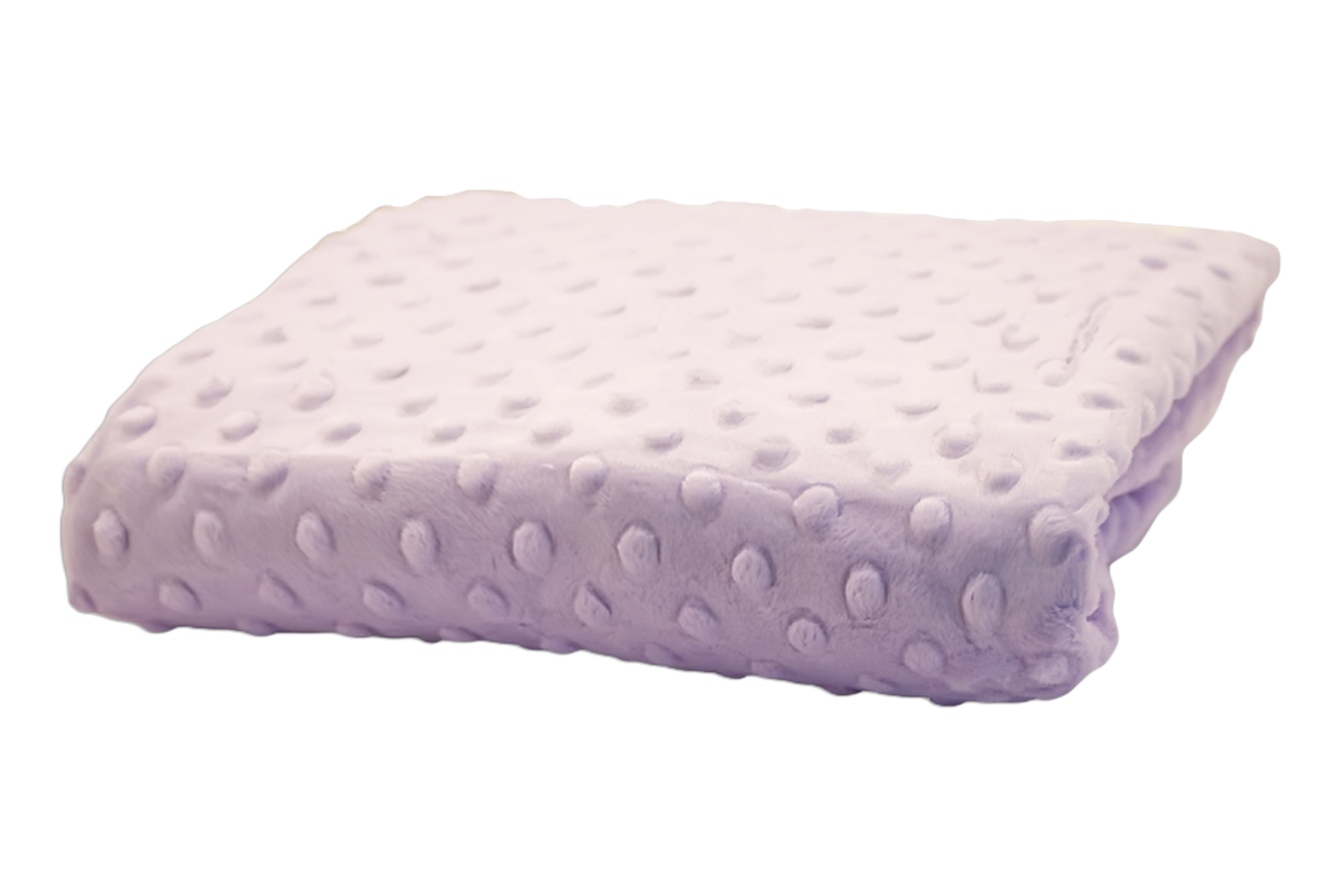 Rumble Tuff Kit Minky Dot Contour Changing Pad Cover - Compact, Lavender