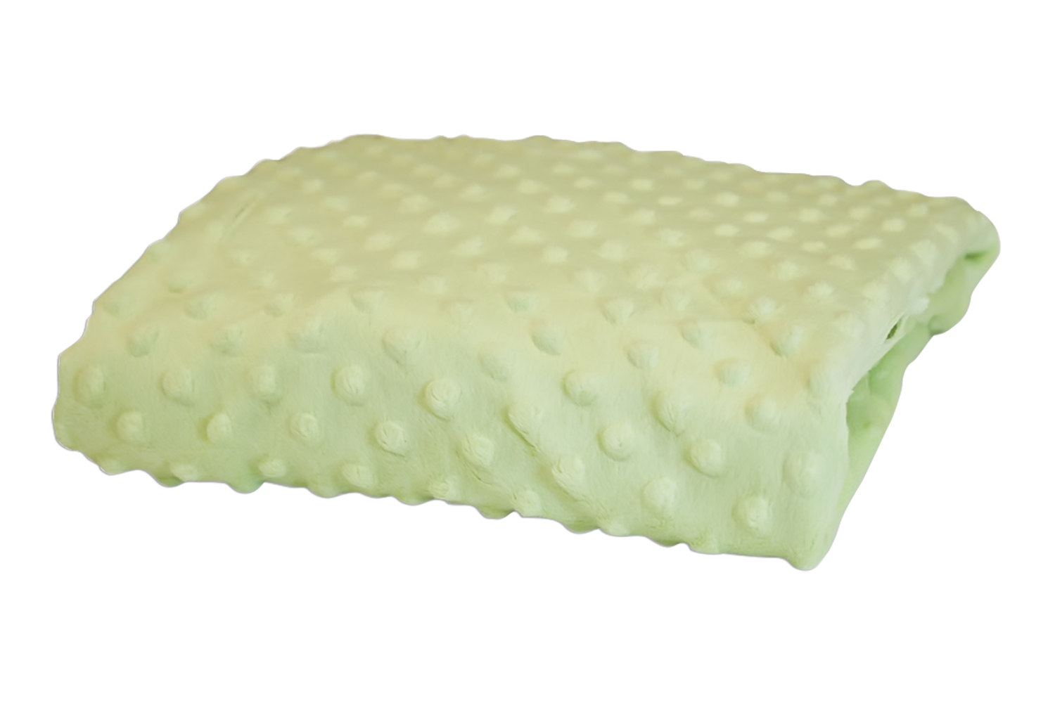 Rumble Tuff Kit Minky Dot Contour Changing Pad Cover - Standard, Mint Green