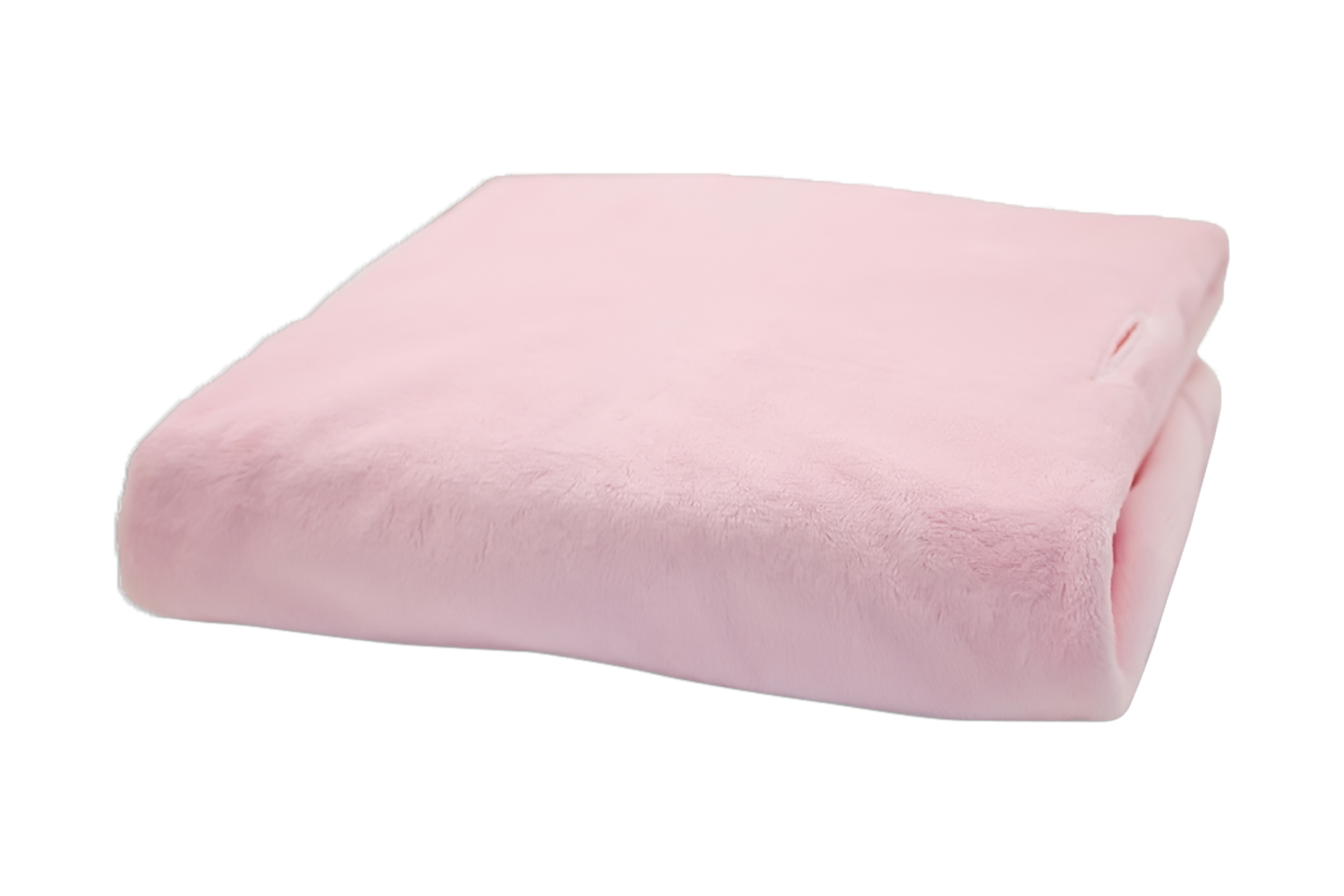 Rumble Tuff Kit Minky Contour Changing Pad Cover - Compact, Powder Pink