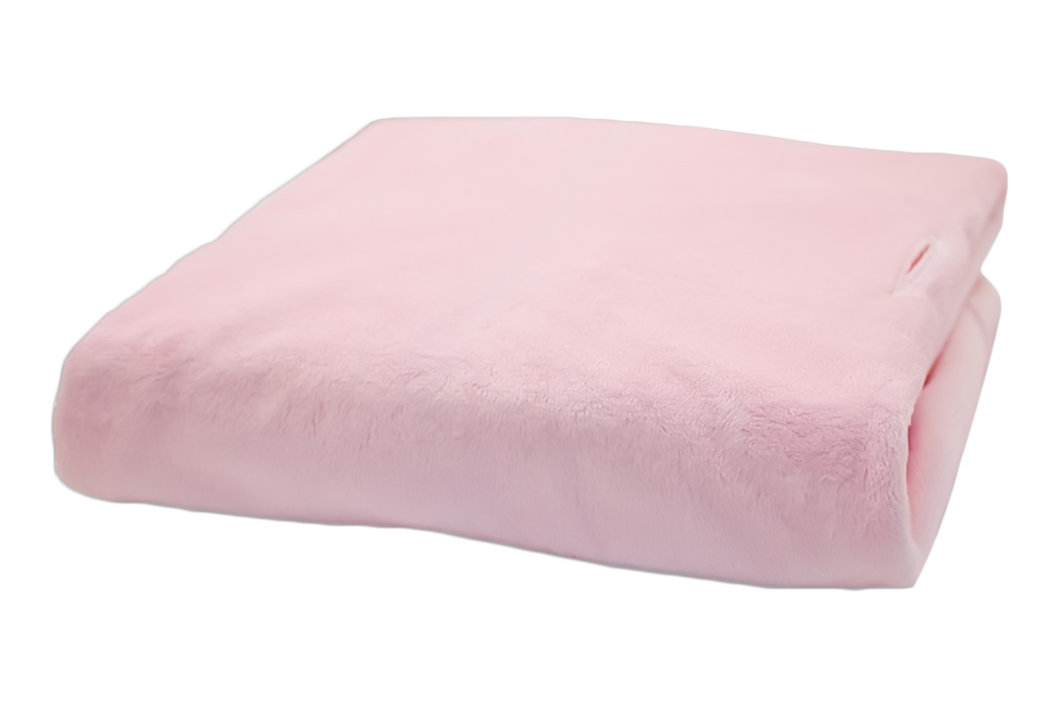 Rumble Tuff Kit Minky Contour Changing Pad Cover - Standard, Powder Pink