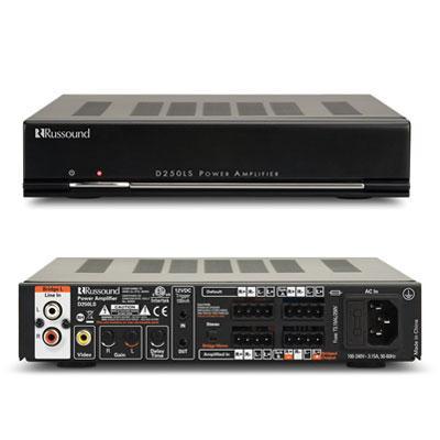 50W 2 Channel Power Amp