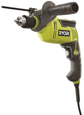 RYOBI� 7.5-AMP HEAVY-DUTY VARIABLE SPEED REVERSIBLE HAMMER DRILL