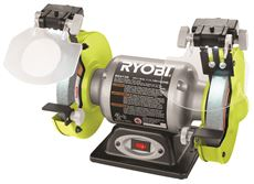 RYOBI� 2.1-AMP GRINDER WITH LED LIGHTS, 6 IN.