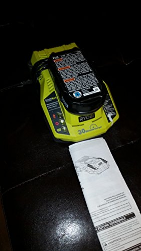 RYOBI� 18-VOLT ONE+ LITHIUM-ION BATTERY AND INTELLIPORT CHARGER
