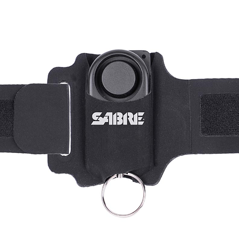 SABRE Runner Personal Alarm 130dB w Reflective Weather Rest. Wrist Strap