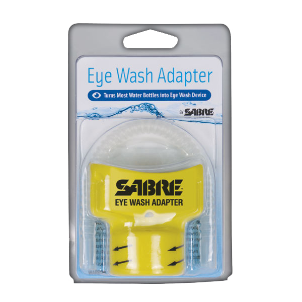 Sabre Eye Wash Adapter