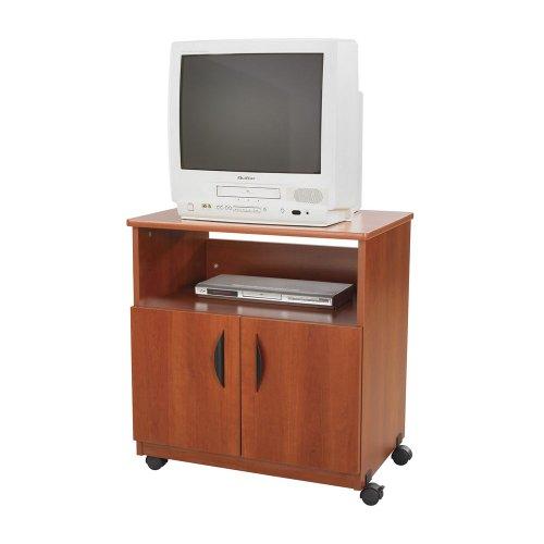 Laminate Machine Stand w/Open Compartment, 28w x 19-3/4d x 30-1/2h, Cherry