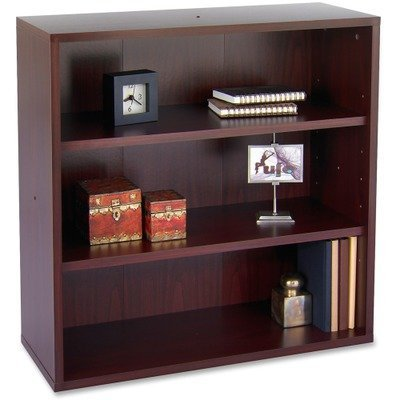 Apr�s Open Bookcase, Three-Shelf, 29-3/4w x 11-3/4d x 29-3/4h, Cherry