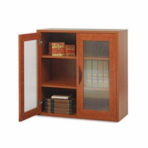 Apr�s Two-Door Cabinet, 29-3/4w x 11-3/4d x 29-3/4h, Cherry
