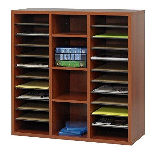Apr�s Single-Door Cabinet w/Shelves, 29-3/4w x 11-3/4d x 29-3/4h, Cherry