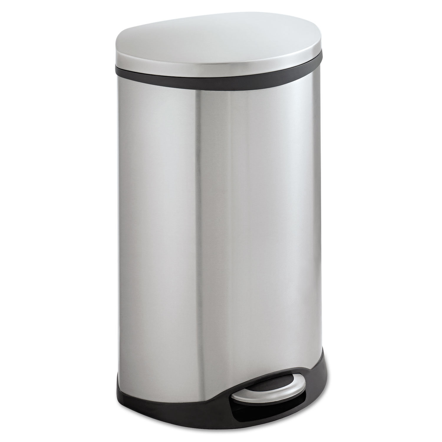 Step-On Medical Receptacle, 12.5gal, Stainless Steel