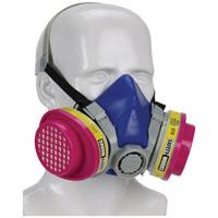 MSA 817670 Multi-Purpose Half Mask Respirator, P100