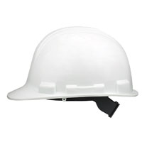 V-Gard 818065 Hard Hat, Polyethylene, White