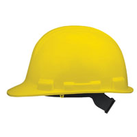 V-Gard 818067 Lightweight Hard Hat, Full Brim, Yellow