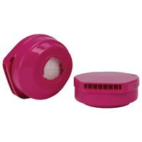 MSA 10023960 Replacement Respirator Cartridge, P100, For Use With 8696510 Half Mask Respirators