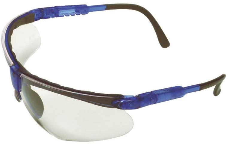 MSA 10049198 Safety Glasses, Clear Anti-Fog Polycarbonate Lens
