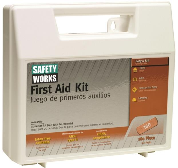 KIT FIRST AID 160PC STANDARD