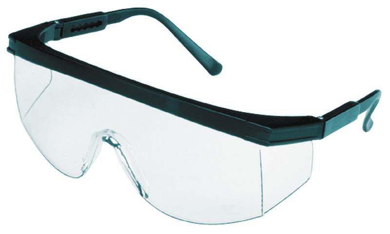 MSA 10049164 Unilens Safety Glasses, Clear Anti-Fog Lens, Teal Frame