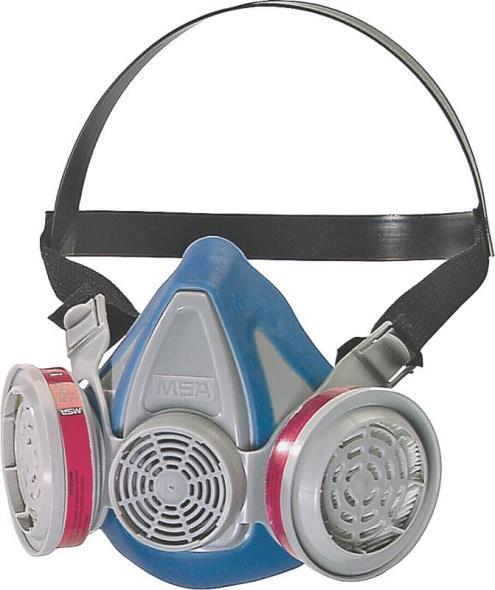 MSA 817671 Lightweight, Toxic Dust Respirator, P100, 99.997 %