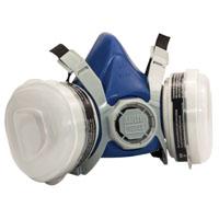 MSA 817662 Paint and Pesticide Half Mask Respirator, R95, 95 %