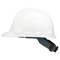 V-Gard 818063 Lightweight Hard Hat, Polyethylene, White