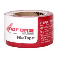 Adfors FibaTape FDW8657-U Drywall Joint Tape, 1-7/8 in W x 75 ft L, White