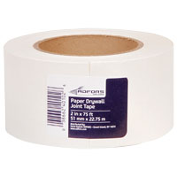 TAPE DRYWL PPR 2INX75FT WHT