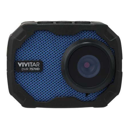 VIVITAR DVR757HD-BLU GO CAMERA. GET IN ON ALL THE ACTION