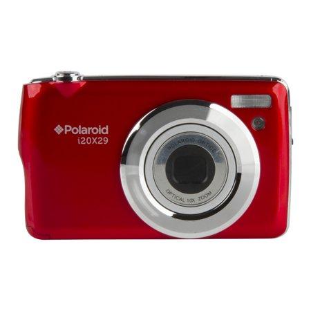 POLAROID I20X29-RED-WM OPTICAL ZOOM DIGITAL CAMERA